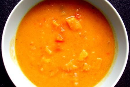 sweet potato chowder