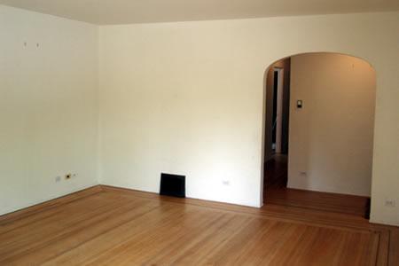 living room - morning day 1