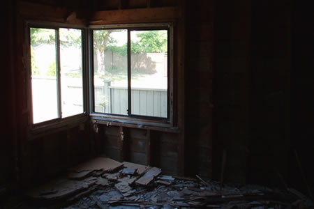 master bedroom after day 3