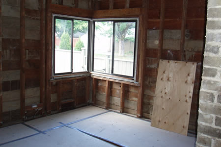 master bedroom after day 6