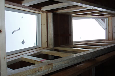 skylights from inside